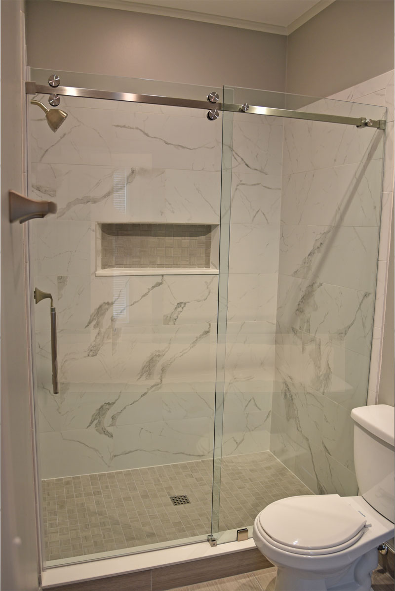 framed shower enclosure & Glass Shower Doors | Frameless Glass Pros Pezcame.Com