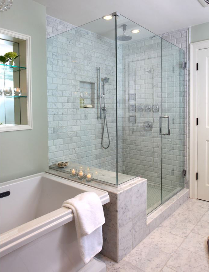 Frameless Glass Shower Doors Enclosures In Snellville GA - Seamless bathroom shower doors